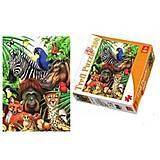 Пазлы Trefl «Африканские звери», 87009, отзывы