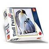Пазлы Trefl «Семья пингвинов», 87001, отзывы