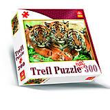 Пазлы Trefl «Три тигрёнка», 87000, фото