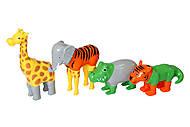 Пазл 3D детский «Магнитные животные», PPT-62000, опт