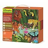 Пазл 3D «Тропический лес», 00-04678, интернет магазин22 игрушки Украина