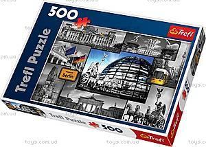 Пазл на 500 деталей «Берлин - коллаж», 37171
