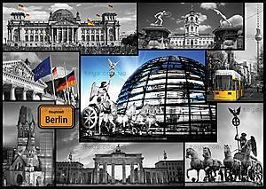 Пазл на 500 деталей «Берлин - коллаж», 37171, купить