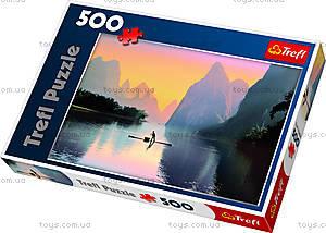 Пазл на 500 деталей «Речка Лицзян, Китай», 37161