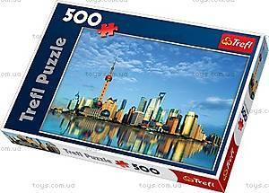Пазл на 500 деталей «Шанхай, Китай», 37163