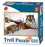 Пазлы Trefl «Тигр в снегах», 89007, купить