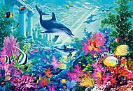 Пазл Castorland на 1000 деталей «Дельфины», С-103515