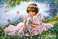 Пазл Castorland на 1000 деталей «Девочка и щенок», С-103249