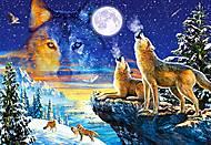 Пазл Castorland на 1000 деталей «Волки», С-103317, фото