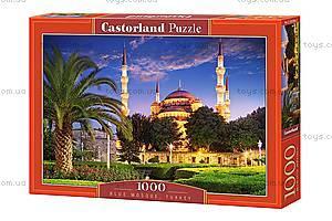 Пазл Castorland на 1000 деталей «Голубая мечеть. Турция», С-103386, купить