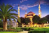 Пазл Castorland на 1000 деталей «Голубая мечеть. Турция», С-103386, фото