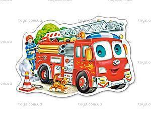 Пазл Castorland на 15 деталей «Пожарная машина», В-015078