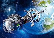 Пазл Castorland на 180 деталей «Космический корабль», В-018260, фото