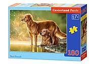 Пазл Castorland на 180 деталей «Лучшие друзья», В-018253, фото