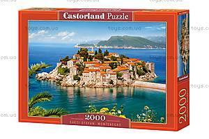 Пазл Castorland на 2000 деталей «Свети-Стефан. Черногория», С-200580, купить