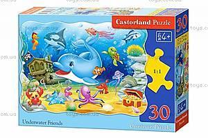 Пазл Castorland на 30 деталей «Подводные друзья», В-03501