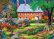 Пазл Castorland на 300 деталей «Чудесный сад», В-030217