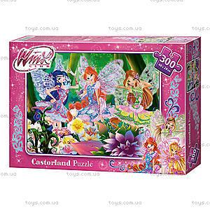 Пазл Castorland на 300 деталей «Winx. В цветущем лесу», В-РU30043, купить