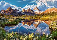 Пазл Castorland на 500 деталей «Скалистые горы», В-52417, фото