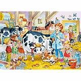 Пазл Castorland на 60 деталей «Ветеринар на ферме», В-06748