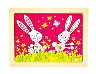 Пазл деревянный goki «Кролики Susibelle», 57506-5, отзывы
