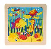 Пазл деревянный goki «Море», 57499-4