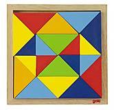 Пазл деревянный goki «Мир форм-абстракция», 57572-2, фото
