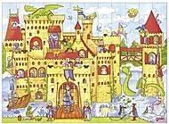 Пазл деревянный goki «Рыцарский замок», 57617G, фото
