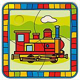 Пазл деревянный «Поезд», 88008, фото
