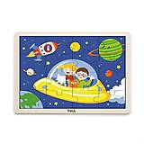 Пазл деревянный Viga Toys «Космос», 51457, фото