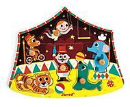 Пазл деревянный «Звезды цирка», J07060, цена