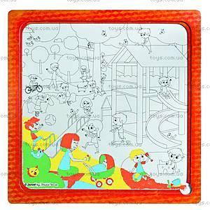 Пазл детский «Мульти Парк», 3 в 1, J02827, купить