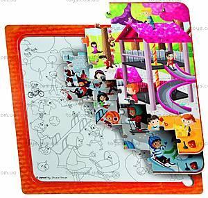 Пазл детский «Мульти Парк», 3 в 1, J02827, фото