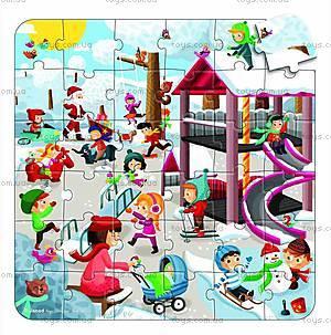 Пазл детский «Мульти Парк», 3 в 1, J02827, отзывы