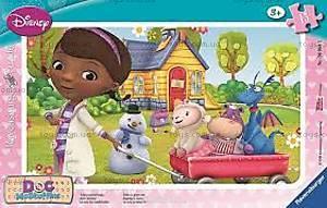 Пазл детский Ravensburger Disney «Доктор Плюшева» 4в1, 07061R, купить