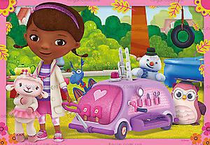 Пазл детский Ravensburger Disney «Доктор Плюшева: Скорая помощь», 07576R, фото