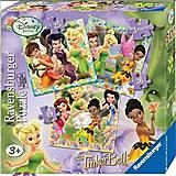 Пазл детский Ravensburger Disney «Феи» 3в1, 07193R, отзывы