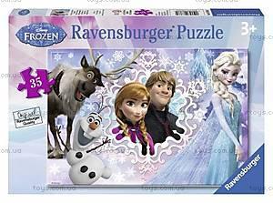 Пазл детский Ravensburger Disney «Холодное сердце» в рамке , 08766R
