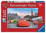 Пазл детский Ravensburger Disney «Молния МакКуин и его друзья», 07554R, toys.com.ua