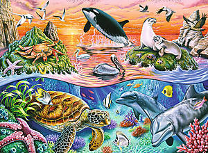 Пазл детский Ravensburger Disney «Прекрасный океан», 10681, купить