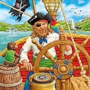 Пазл детский Ravensburger Disney «Приключения пиратов», 09275R
