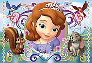 Пазл детский Ravensburger Disney «Принцесса София» в рамке , 08737R, купить