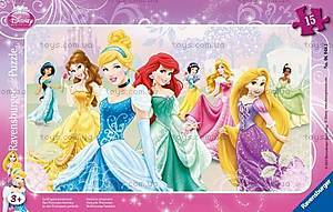 Пазл детский Ravensburger Disney «Принцессы» в рамке , 06048R