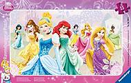 Пазл детский Ravensburger Disney «Принцессы» в рамке , 06048R, купить