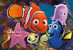 Пазл детский Ravensburger Disney «В поисках Немо», 07556R, купить