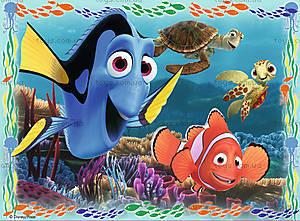 Пазл детский Ravensburger Disney «В поисках Немо» 4в1, 07321R, фото