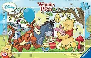Пазл детский Ravensburger Disney «Винни-Пух и мед» в рамке , 06018R