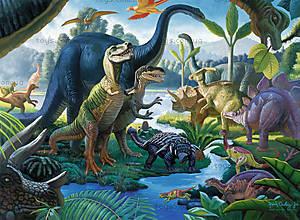 Пазл детский Ravensburger «Динозавры», 10740