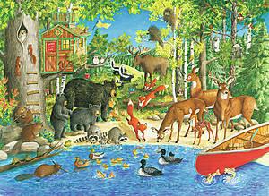 Пазл детский Ravensburger «Лесные жители», 12740, купить