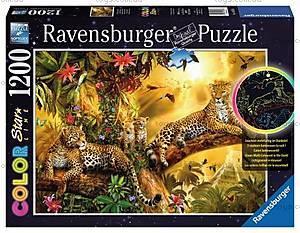 Пазл Ravensburger «Золотой леопард», светящийся, 16183